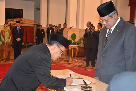 Dilantik Presiden Sebagai Anggota DKPP